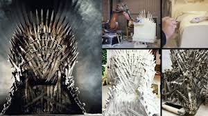 life size iron throne game of thrones 8 awesome pieces of merchandise you can own