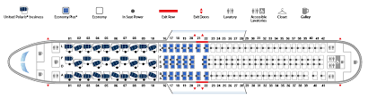 boeing 767 300 878 version 3 united airlines seat map