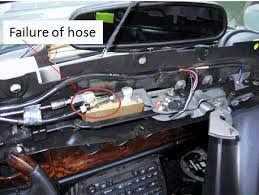 jagrepair com jaguar repair information resource photos below are the hose failures at the latch and the latching mechanism