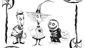 Nightmare Before Christmas Coloring Book Djanup 109fef725fe9
