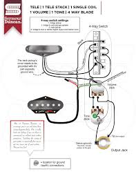 Four Way Switch Wiring Diagram Telecaster Wiring-Diagram 4-Way Esquire