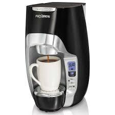Coffee Maker Carafe And Single Cup Flexbrewr Coffee Makers Hamiltonbeachcom