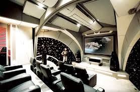 Small Picture 4 Rooms With Out of This World Star Wars Home Theater Design