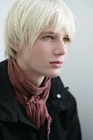 Resultado de imagen para cabello rubio platinado hombre