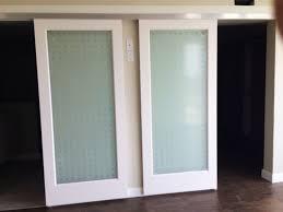 interior barn door track. Adorable Double Glass Barn Doors With Door Track The Store Interior
