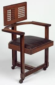 office chair 1904 by frank lloyd wright