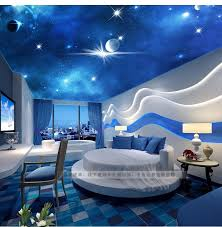 3d stereoscopic large living room ceiling mural bedroom zenith woven wallpaper ktv star star custom size custom wallpaper designer wallpaper from