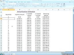 Create Amortization Schedule Excel Calculate Amortization Schedule