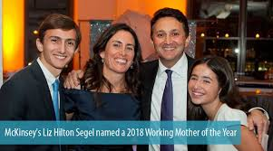 McKinsey's Liz Hilton Segel named a 2018 Working Mother of the Year
