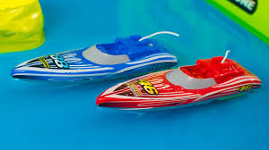 toy boats for kids sharper image rc sd boat racing playset toys for boys kinder playtime you