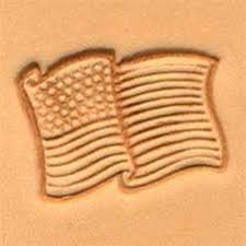3d american flag leather stamp 88354 00 tandy stamping tool craft stamps tools for