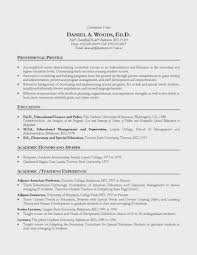 Academic Resume Examples Achievable Adadrivered Com