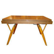 Convertible Cocktail-Console-Dining Table For Sale