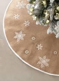 Beautiful burlap tree skirt. HomeDecorators.com #holiday2015 More
