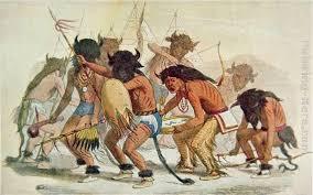 george catlin sioux buffalo