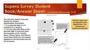 Survey Test Book Answers Terranova Supera Survey Assessment Ppt Download