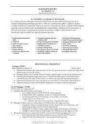 Management Resume Modern Modern Non Technical Project Manager Resume Sample Ukashturka