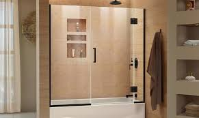 frameless frosted bypass enclosures sterling hinged screen bronze wonderful tub sliding swing oil door glass