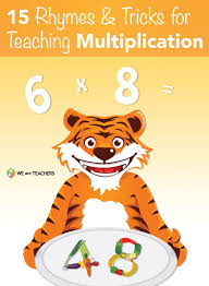 15 Rhymes and Tricks for Multiplication   Math   Pinterest ...