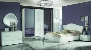 Italien Schlafzimmer Set Weiß Valeria 4 Teilig In Außergewöhnlichem