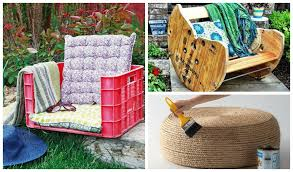creative diy furniture ideas. Easy Fun Diy Outdoor Furniture Ideas Creative