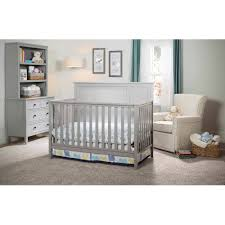Furniture Convertible Crib With Toddler Bed Conversion Kit In
