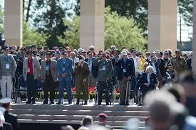 u s department of defense photo essay  world war ii veterans pay tribute to u s president barack obama at the normandy american cemetery