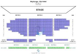 Chippendales Seating Chart Rio Chippendales Theatre Rio Hotel Tickets And Chippendales
