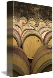 stacked oak barrels. Oak Wine Barrels. Barrels Stacked A