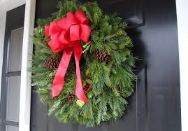 Christmas Wreath Door Home Wreaths For Front Attachments ...