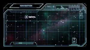 Sci Fi Chart Star Chart With Sci Fi User Interface Stock Motion