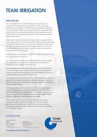 Irrigation Design Australia What Capabilities Does Team Irrigation Offer