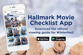 christmas card list app hallmark movie checklist app hallmark channel