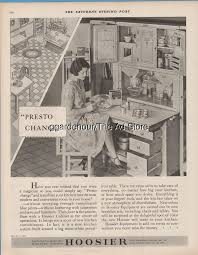1928 Hoosier Cabinets New Castle IN Indiana Presto Change Modern ...