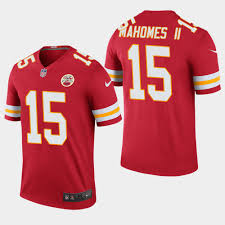 Color Ii Men's Patrick Rush Red - Chiefs Mahomes Legend Jersey