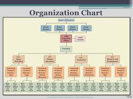 Pearson Organizational Chart Organizational Structure And Design Chapter Copyright 2011