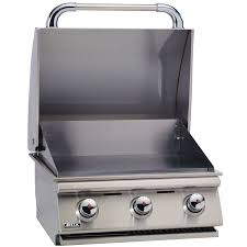 bull bbq 24 inch built in liquid propane commercial style griddle 97008