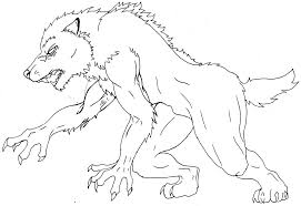 Small Picture Perfect Werewolf Coloring Pages 98 In Picture Coloring Page with