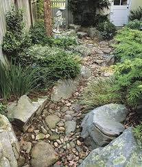 Small Picture 115 best dry creek beds and rock gardens images on Pinterest