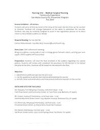 Medical Surgical Nursing Resume Nurse Resumes Examples Critical Care ...