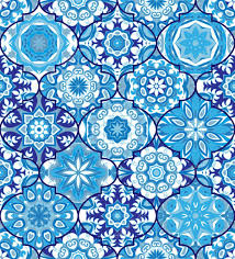 Bohemian Pattern Beauteous Vector Ethnic Colorful Bohemian Pattern In Bright Colors Stock