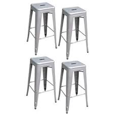 aluminum bar stools. Plain Stools AmeriHome Metal Bar Stool Set 30Inch Silver Set Of 4 And Aluminum Stools O