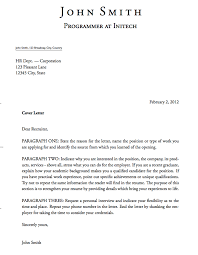 Academic Cover Letter Sample Template Simple LaTeX Templates Cover Letters