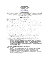 Med Surg Rn Resume Nurse Cover Letter Sample Vet Tech Telemetr