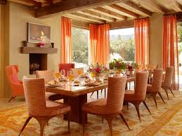 Inspiring Dining Room Curtains Patterned Or Plain Ruchi Designs - Dining room curtain designs