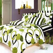 lime green black white teen girl bedding twin duvet cover set