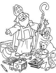 Kleurplaten Sinterklaasintwentenl