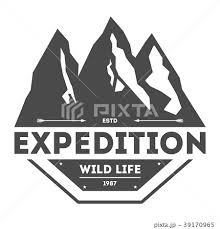 Mountain Explorer Vintage Isolated Labelのイラスト素材 39170965