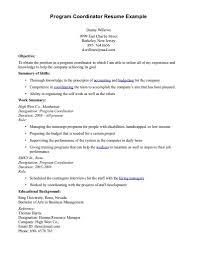 Projector Resume Manager Resumes Samples Australia Job Description