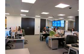 open office concept. the trend in designing office spaces has been openconcept that is most workers have cubicles with few working enclosed open concept